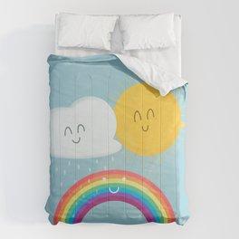 Rainbow's Family Comforters