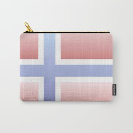 flag of norway  -with color gradient Carry-All Pouch