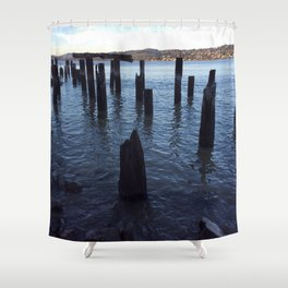 Carquinez straight Shower Curtain