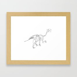 Iguanodon Framed Art Print