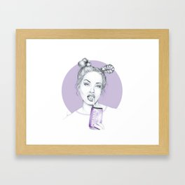 Different intentions Framed Art Print
