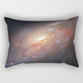 Spiral Galaxy M 106 Rectangular Pillow