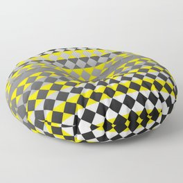 Lines and Squares Floor Pillow