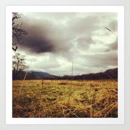 Scottish Highlands: Storms Art Print