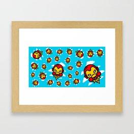 I´m Invincible Framed Art Print