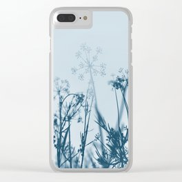 Blooming Sky Clear iPhone Case
