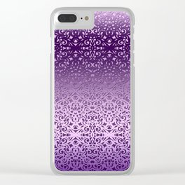 Baroque Style Inspiration G155 Clear iPhone Case