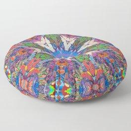 Easter Mandala Floor Pillow