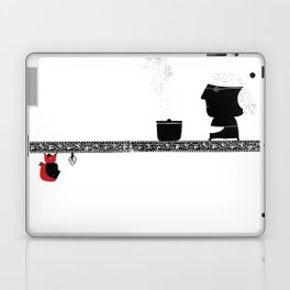 Little Red grandmother Laptop & iPad Skin
