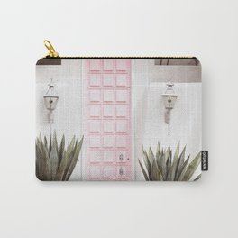 Pink Door Palm Springs California Carry-All Pouch