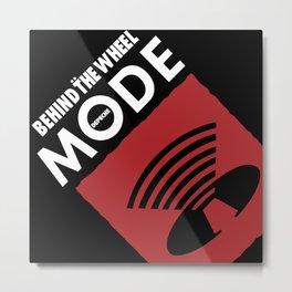 DM - Behind The Wheel -1 Metal Print