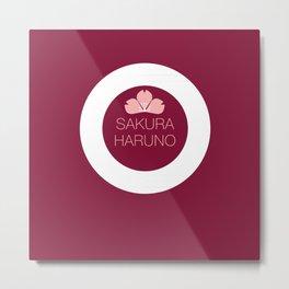 Sakura Haruno Metal Print