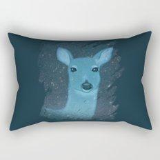 Midnight Deer Rectangular Pillow