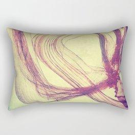 Gasping For Air Rectangular Pillow