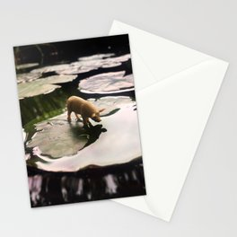 The Pig + The Lily Pad Stationery Cards