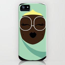 Jade Muslimah iPhone Case