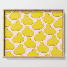 yellow peep Serving Tray