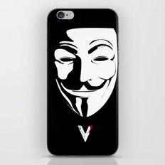 Vendetta iPhone & iPod Skin