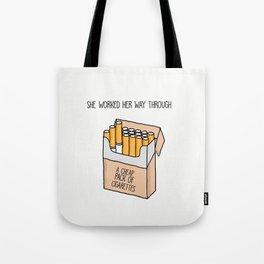 Harry Styles Kiwi Artwork Tote Bag
