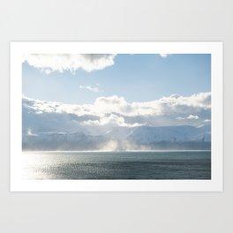 Husavik Bay Art Print