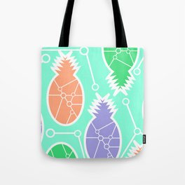 Pineapple network Tote Bag