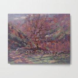 Crozand, Solitude, 1915, Armand Guillaumin (1841 – 1927) (Art Paintings) Metal Print