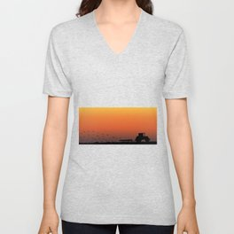 Ploughing the Field Unisex V-Neck