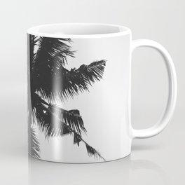 Palm, Tree, Nature, Tropical, Modern, Minimal, Interior, Wall art Coffee Mug