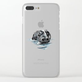 Seal Floating Clear iPhone Case