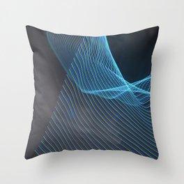 Chunking Down To The Subatomic Throw Pillow