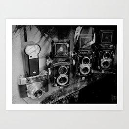 vintage photography Art Print