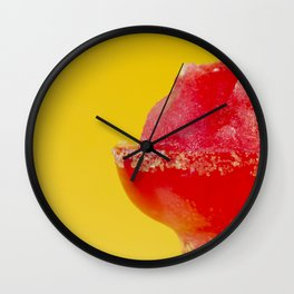 Strawberry Margherita Wall Clock