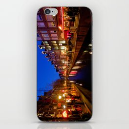 Red Lights iPhone Skin