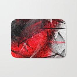 under the spotlight abstract digital painting Bath Mat