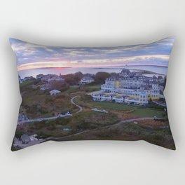Sunset at the Ocean House Hotel - Watch Hill, Rhode Island Rectangular Pillow