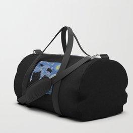 The Starry Cat Night Duffle Bag