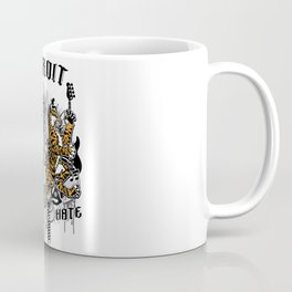 """DETROIT ; DON'T HATE' "" Coffee Mug"