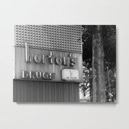 Horton's Metal Print