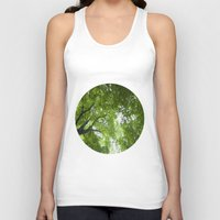 jewish Tank Tops featuring Leaves and Lace by Brown Eyed Lady