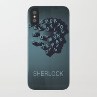 sherlock holmes iPhone & iPod Cases featuring Sherlock Holmes by HomePosters