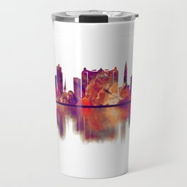 Alexandria Egypt Skyline Travel Mug