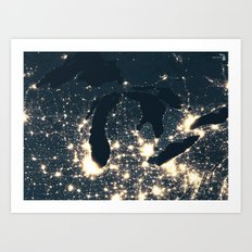Northern Lights Art Print