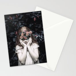 Mystical nature's portrait III Stationery Cards