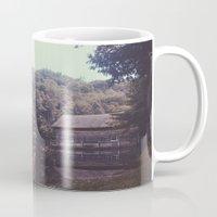 cabin Mugs featuring Julia Cabin by Noah Loethen
