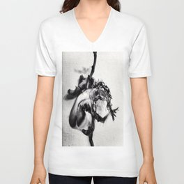 """crucifixion of lust"" Unisex V-Neck"