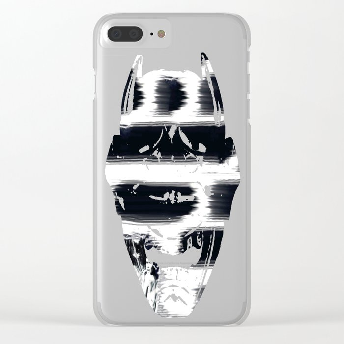 Hidden in the Madness Clear iPhone Case