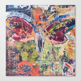 Butterfly Man, 3, Acrylic On Canvas, Chase Medved Canvas Print