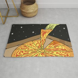 Universe Pizza Delivery Rug