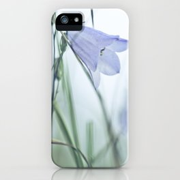 Harebell Blues iPhone Case
