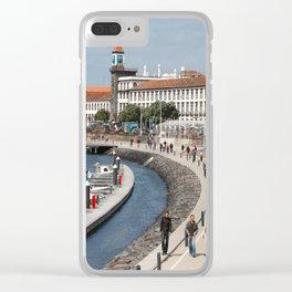 Ponta Delgada Clear iPhone Case